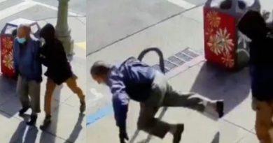 奥克兰唐人街袭击91岁老人的嫌犯被捕